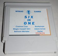 MYRIAD 6-IN-1 --- NES Nintendo --- Great Condition ** Very Rare **