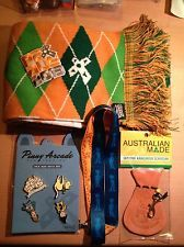 Pinny Arcade PAX AUSTRALIA AUS 2013 Set of Four Pins Penny Arcade, Patch, Scarf