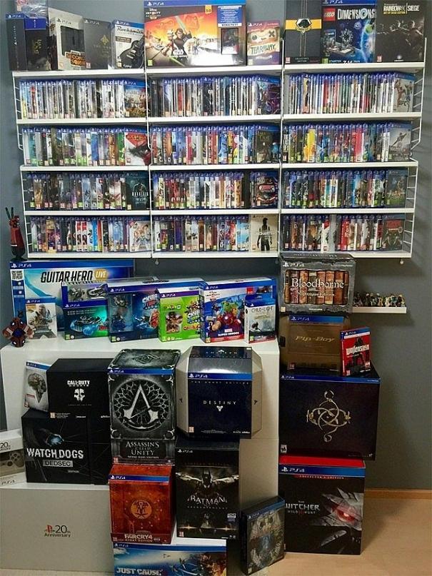 Gamer decide di comprare tutti i giochi per PlayStation 4