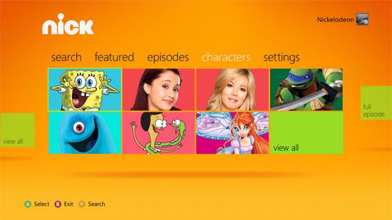 Nickelodeon-xbox