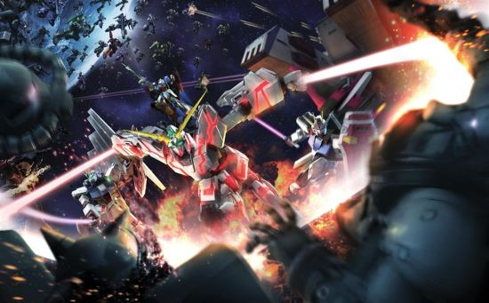 Dynasty Warriors Gundam Reborn art