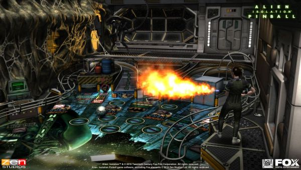 Aliens vs Pinball Launch Screenshot - 4