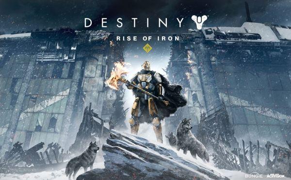 Destiny Rise of Iron art