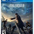 Final Fantasy XV PS4 packshot