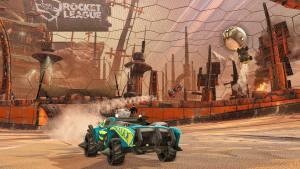 Rocket League DLC Wasteland