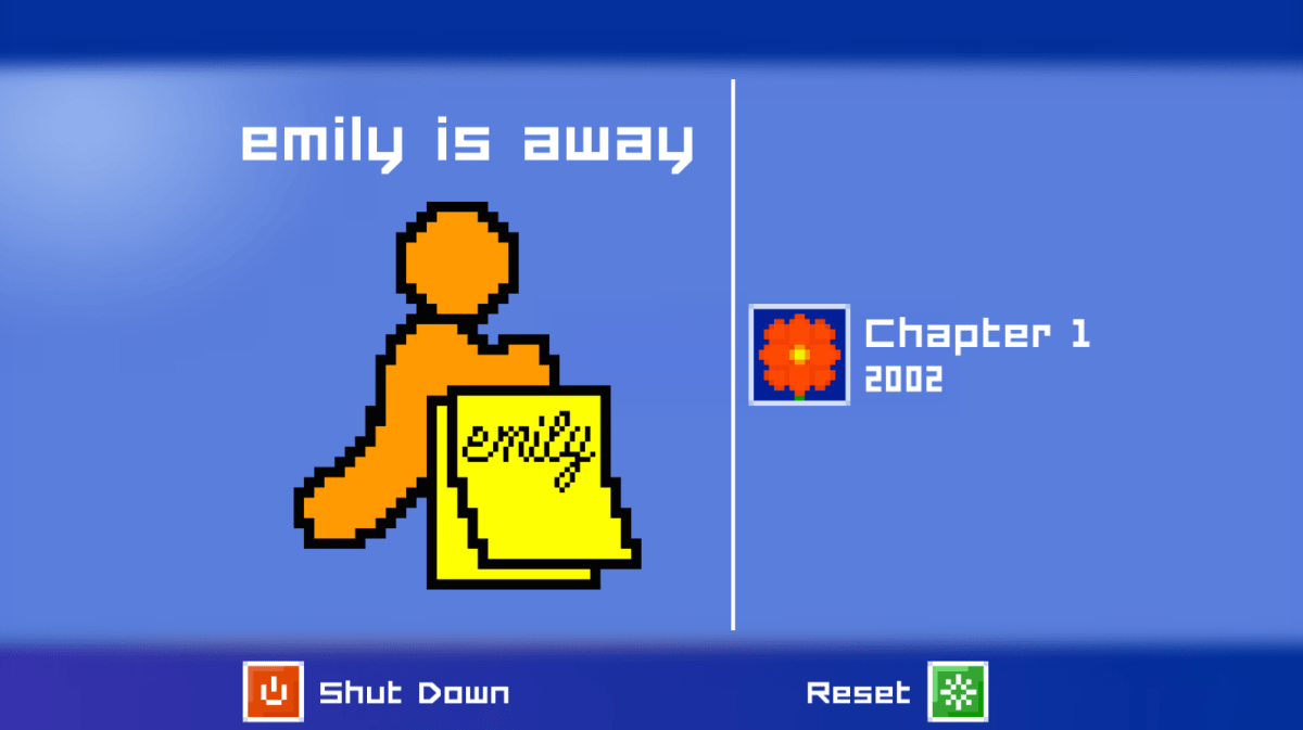 Free-to-Play Emily is Away Now Available for PC