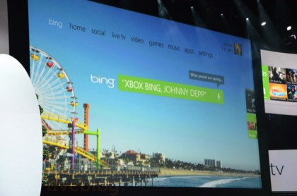New Xbox Bing search johnny depp