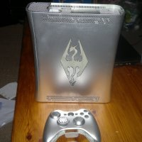 Custom Skyrim Xbox - modded case.