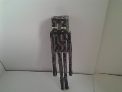 Enderman cutout and glued