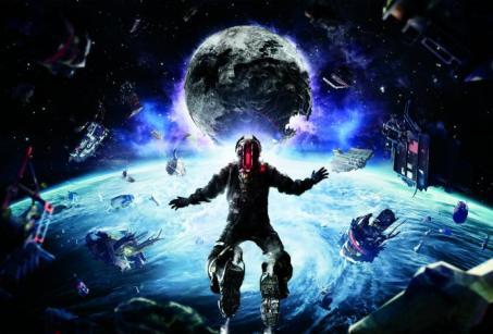 Dead Space 3 zero-g campaign concept art