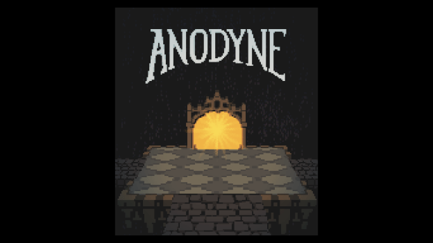 Anodyne: start screen