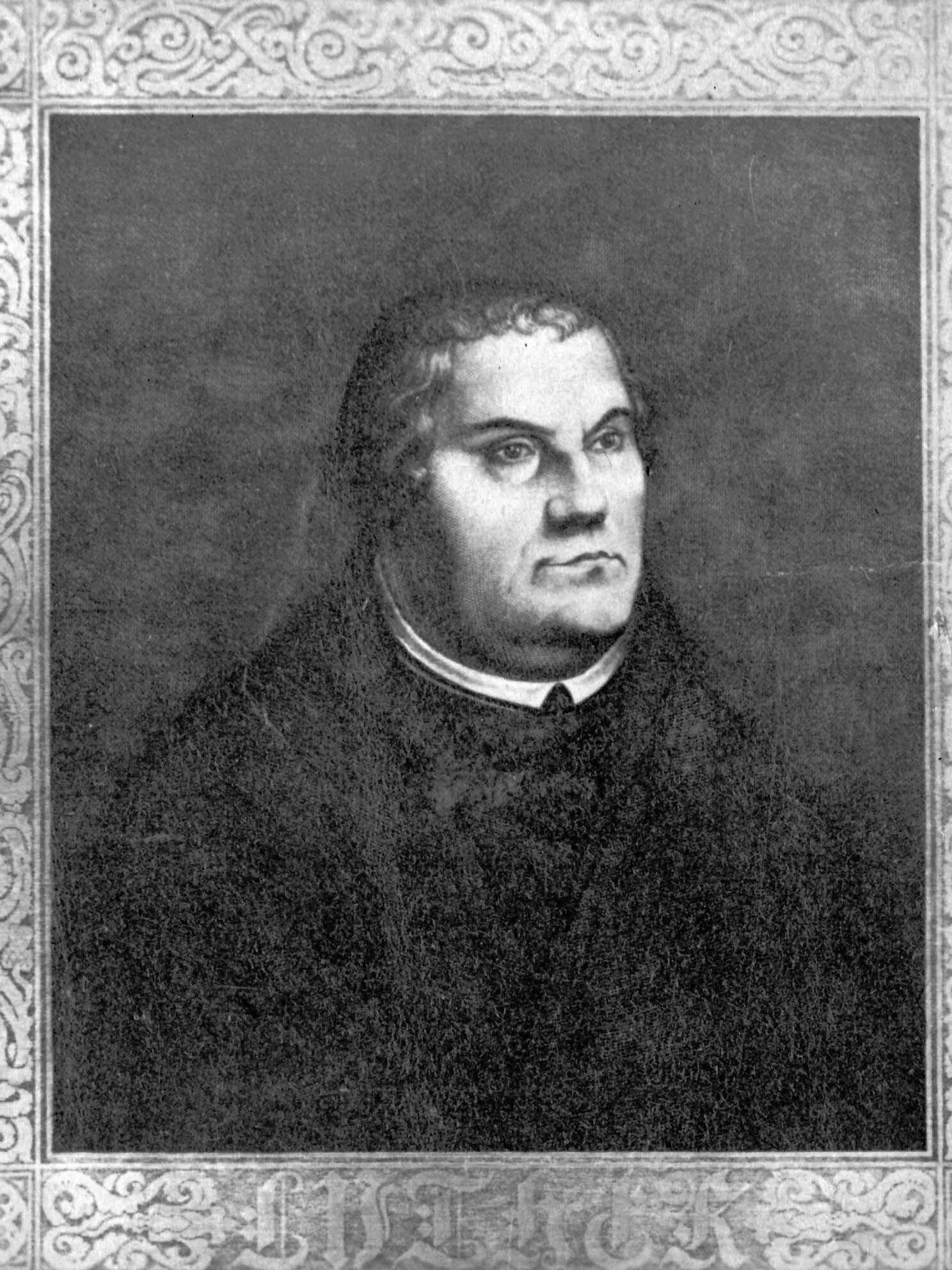 Catholic and Evangelical Lutheran bishops commemorate Reformation MARTIN LUTHER   leader of the Protestant Reformation