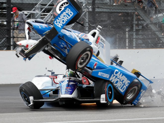Helio Castroneves misses Indy 500 history by two-tenths of a second ...
