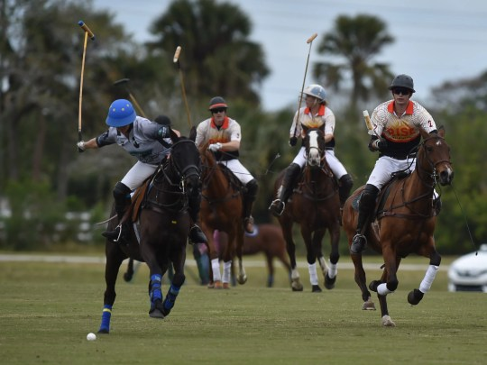 Opening tournament for Vero Beach Polo Club 2018 Polo