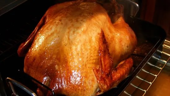 Large Of Cook Turkey Upside Down
