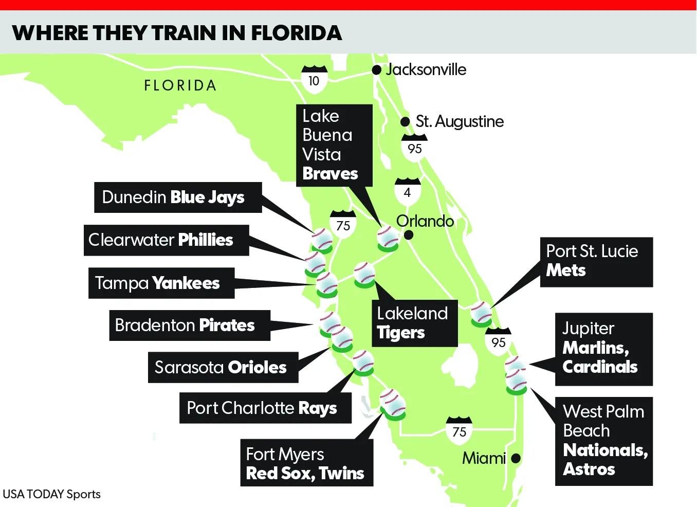 Spring Training Map Florida Best tamu maps app state campus map