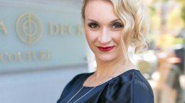 Modedesignerin Ella Deck