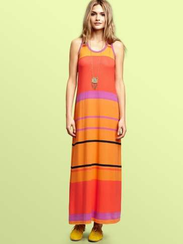 Gap Striped Maxi Dress
