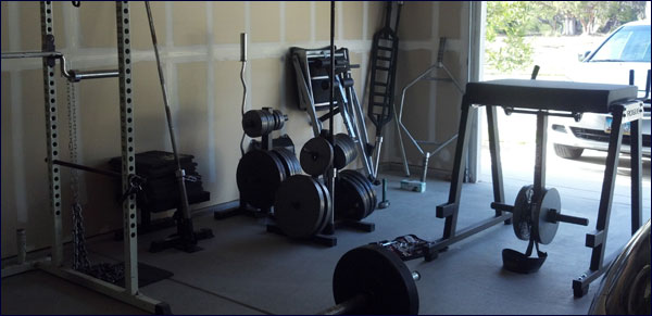 Building a garage gym tips and ideas including equipment