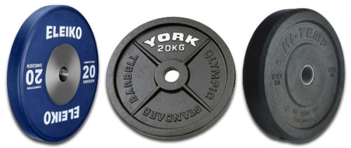 Bumper plates review selecting bumpers for a garage gym