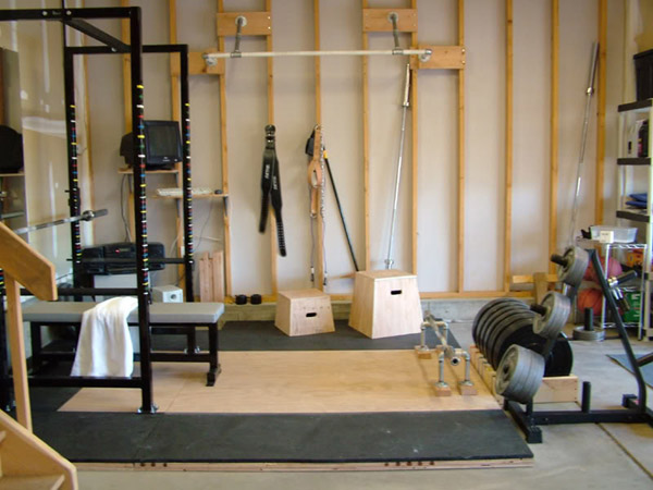 Garage gym inspirations ideas gallery pg 2 for How to create a home gym