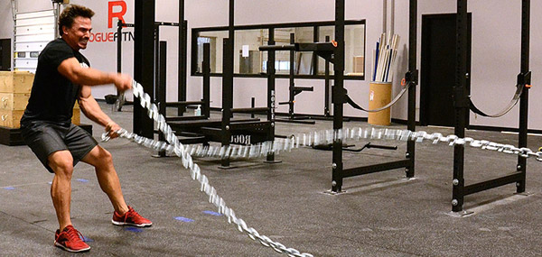 Battle ropes an insane cardio conditioning tool