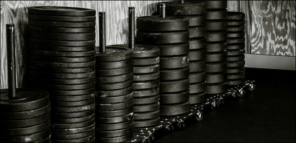 Buying bumper plates in bulk for less