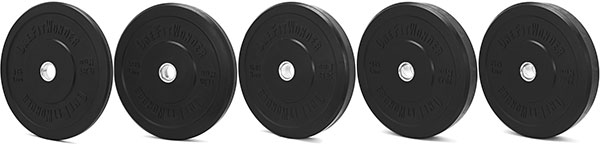 Fringesport OFW Black Bumper Plates