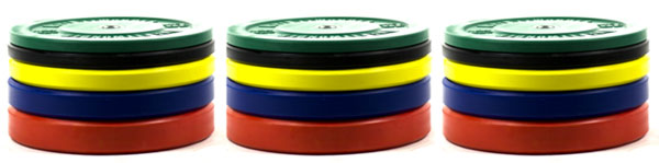 FringeSport OFW Colored Bumper plates