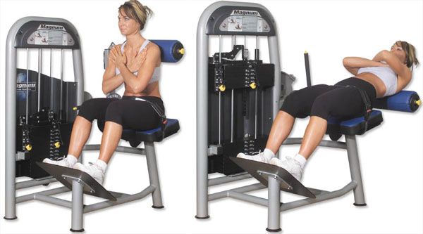 Alternative exercises to gym machines for new garage