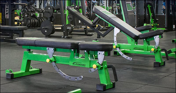 Weight bench review legend adjustable