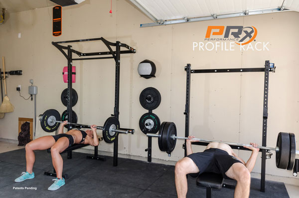 His and hers prx profile rigs garage gyms