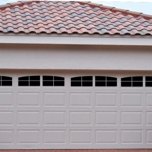 craftsman style garage doorsCraftsman Style Faux Window Garage Door Vinyl Decals  Garage Door