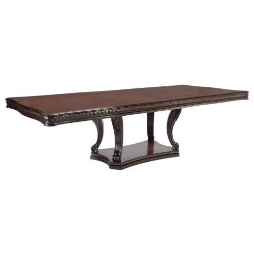 Medium Crop Of Pedestal Dining Table