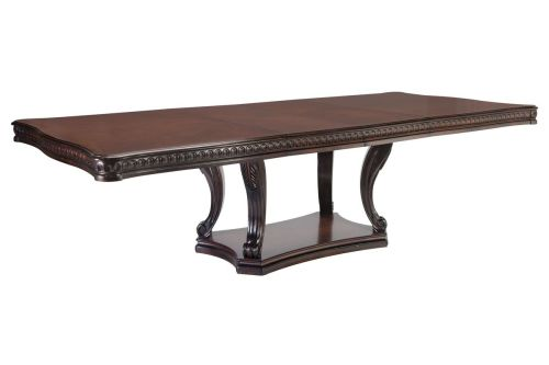 Medium Of Pedestal Dining Table
