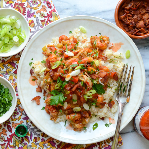 easy crawfish ?touff?e | Garlic + Zest