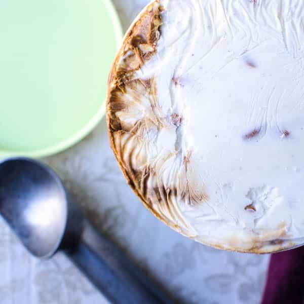 Stout Caramel Pretzel Ice Cream   Garlic + Zest