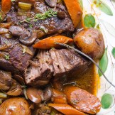 Homestyle Pot Roast | Garlic + Zest