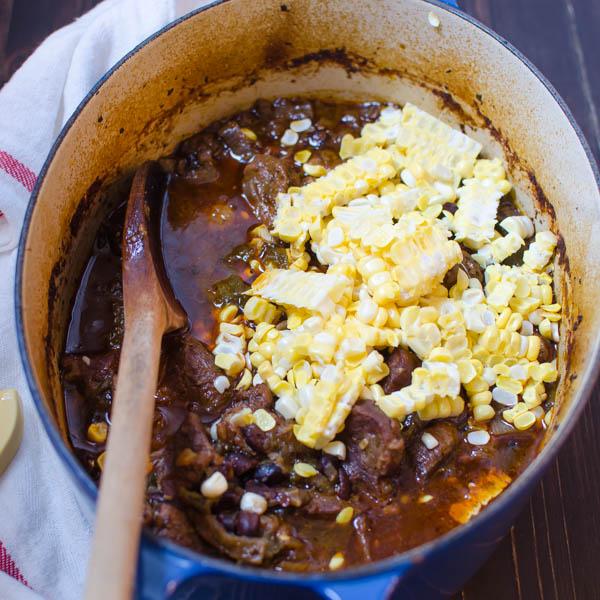 Tex-Mex Braised Pork Stew | Garlic + Zest