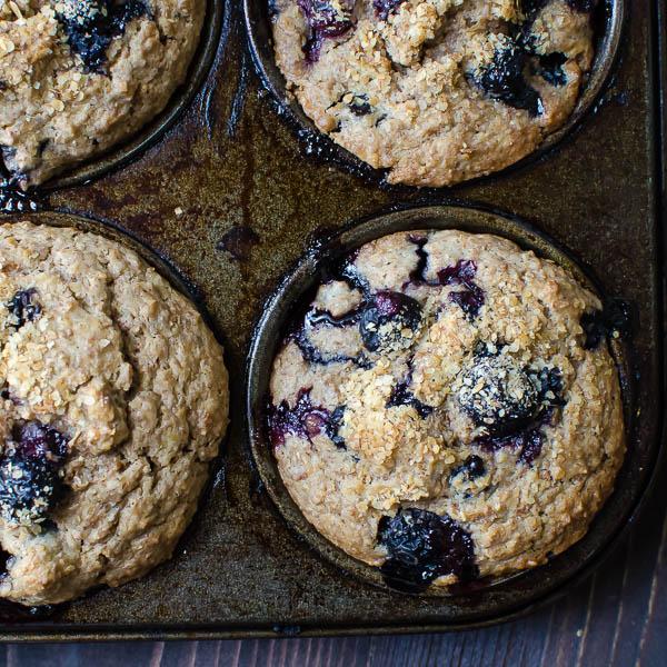 blueberry bran muffins-8