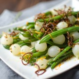 Orange Dijon Haricots Verts | Garlic + Zest