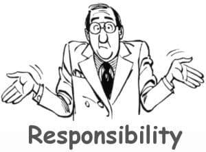 I am responsible