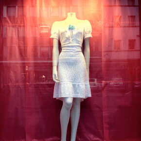 Caritas shop window Zürich June 2012