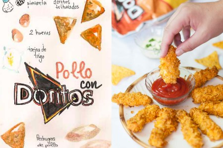 pollo-con-doritos