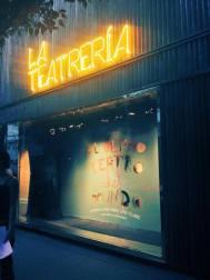 La fachada de La Teatrería (imagen tomada de Facebook)
