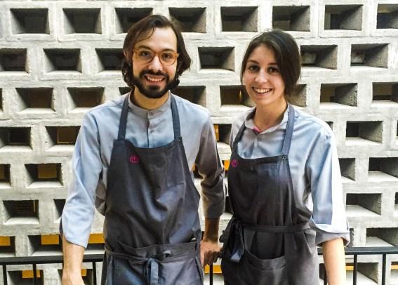 Jóvenes pero no novatos: Joaquín y Sofía traen experiencia de restaurantes Michelin en Europa, y Pujol en México