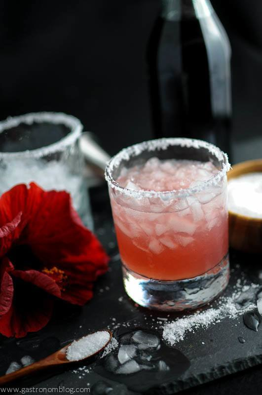 Hibiscus Salty Dog – A Vodka Cocktail | The GastroNom