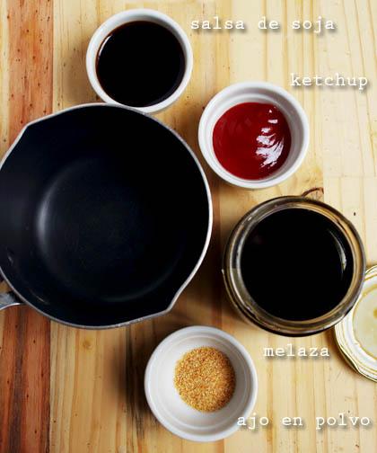 Ingredientes para salsa para hamburguesas