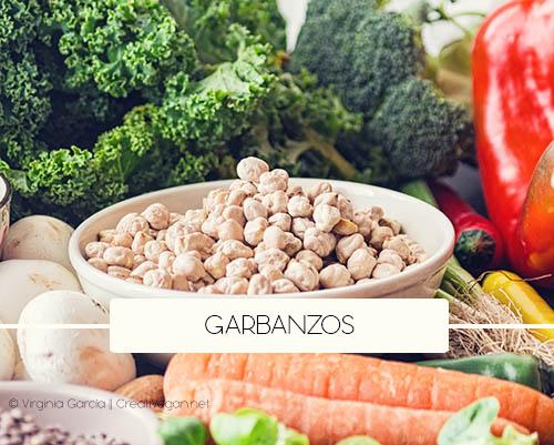 Garbanzos - Tipos de legumbres - Cómo cocinar con legumbres - GastronomiaVegana.org