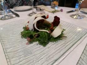 log haven kale greens salad